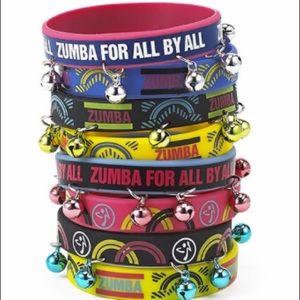 Zumba rubber bracelets pack of 8